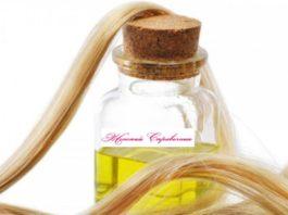 Подсолнечное масло для восстановления сухих и поврежденных волос