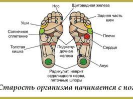 Старость начинается с ног. Где искать точки «своих» болезней?